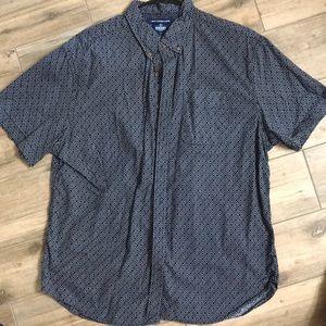 Short Sleeved Casual Dress Shirt